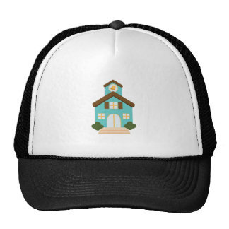 School Building Trucker Hat