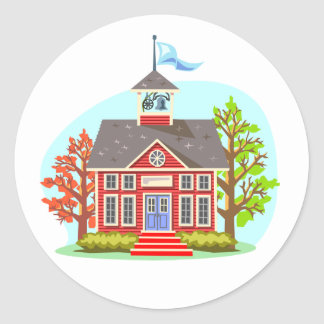 School Building Stickers