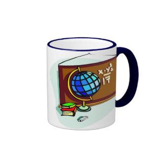 School Bulletin Board Ringer Coffee Mug