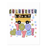 School Bus 100 Days Tshirts and Gifts Post Card