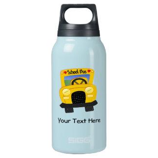 School Bus 2 (Customizable) Insulated Water Bottle