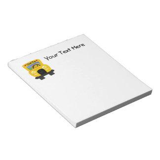 School Bus 2 (Customizable) Notepad