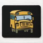 School Bus 2 Mouse Pad