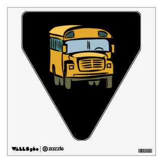 School Bus 2 Room Sticker