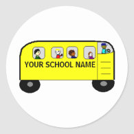 SCHOOL BUS -  a Your School product - sticker