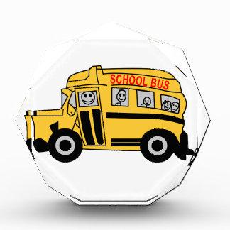 School Bus Acrylic Award