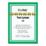 School Bus Birthday Party 5x7 Paper Invitation Card