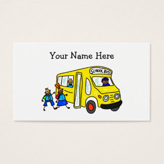 School Bus Business Card