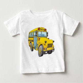School Bus Cartoon Baby T-Shirt