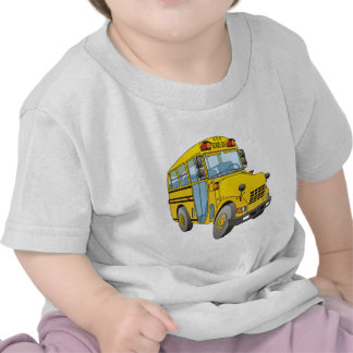 School Bus Cartoon Tees