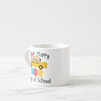 School Bus Celebrate 100 Days Espresso Cup