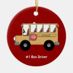 School Bus (Customizable) Ornament