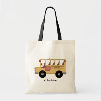 School Bus (Customizable) Tote Bag