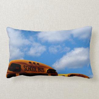 School Bus days pillow