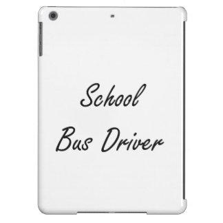 School Bus Driver Artistic Job Design iPad Air Case