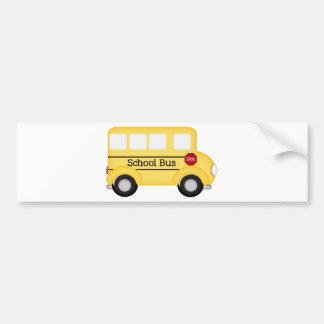 School Bus- driver Bumper Sticker