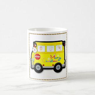 School Bus Driver Christmas Mug