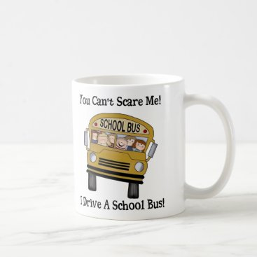 Coffee Themed School Bus Driver Coffee Cup
