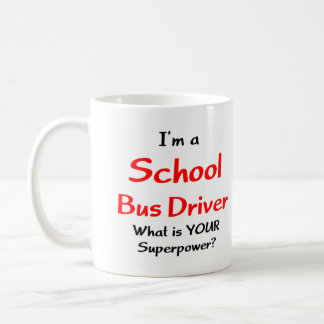 School bus driver coffee mug