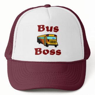 School Bus Driver Hat.  Bus Boss. Trucker Hat