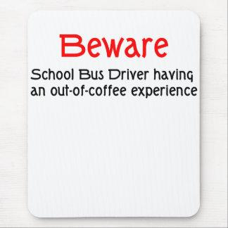 School Bus Driver Mousepad