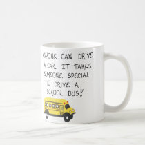 School Bus Driver Mug with Quote