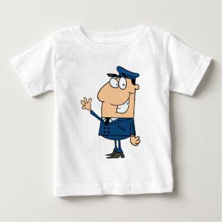 School Bus Driver School Waving Baby T-Shirt