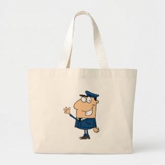 School Bus Driver School Waving Bag