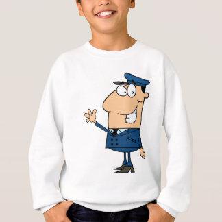 School Bus Driver School Waving Sweatshirt