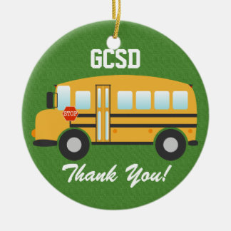 School Bus Driver - SRF Christmas Ornaments