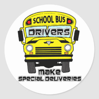 School Bus Driver Stickers