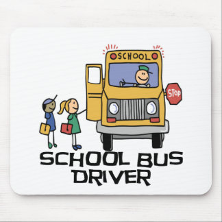 School Bus Driver T-shirts and Gifts. Mouse Pad