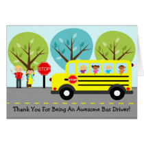 School Bus Driver Thank You