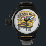 """School bus driver wrist watch<br><div class=""""desc"""">Awesome gist to give that Bus driver  make them smile.!!</div>"""