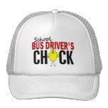 School Bus Driver's Chick Mesh Hats