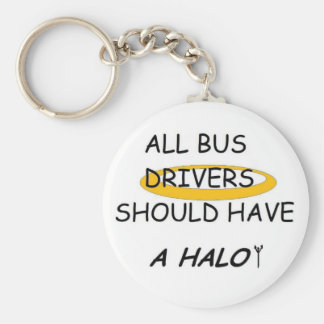 School Bus Drivers Should Have A Halo Keychain