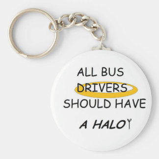 School Bus Drivers Should Have A Halo Key Chains