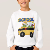 School Bus Frogs Sweatshirt