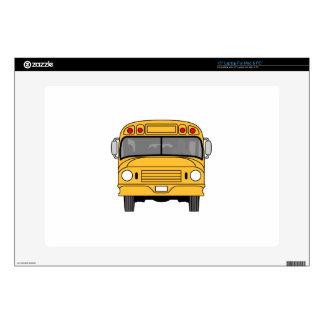 School Bus Front Skins For Laptops