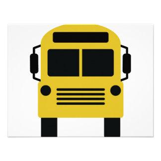 school bus icon announcement