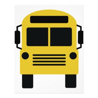 school bus icon flyer
