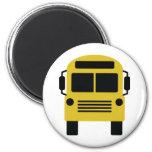 school bus icon fridge magnet