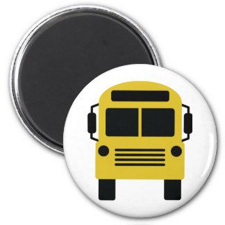 school bus icon magnet