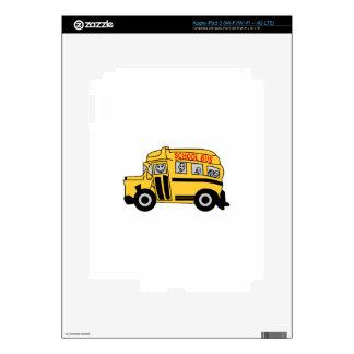 School Bus iPad 3 Decals