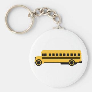 School bus key chains