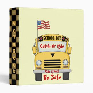 School Bus Kids R Kool Fun Notebook Avery Binder