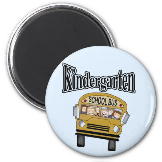 School Bus Kindergarten Tshirts and Gifts Magnets
