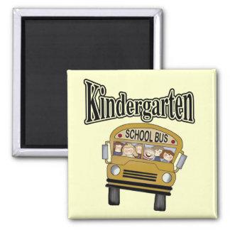 School Bus Kindergarten Tshirts and Gifts Magnet