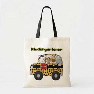 School Bus Kindergartener Tshirts and Gifts Tote Bag