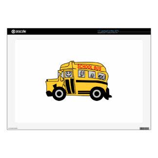 School Bus Laptop Decals